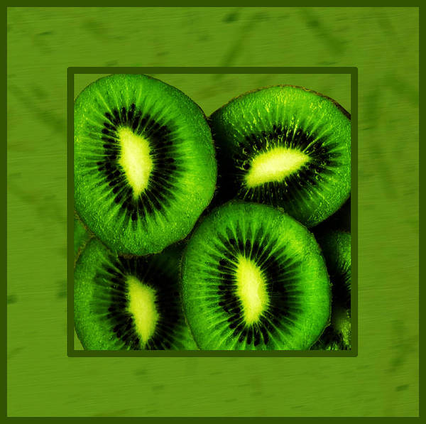 Kiwifruit Photograph - Kiwi Fruit  by Daryl Macintyre