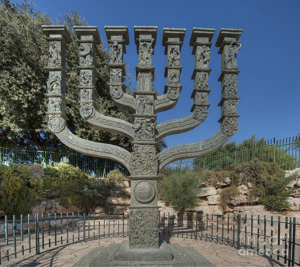 Adorn Photograph - Knesset Menorah by Noam Armonn