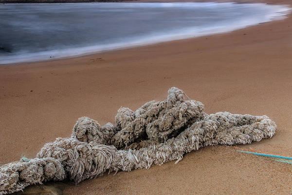 Photograph - Knots On The Sand by Edgar Laureano
