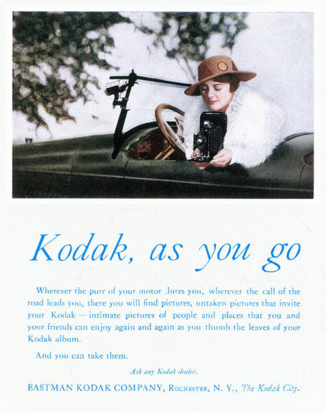 Photograph - Kodak Advertisement, 1917 by Granger