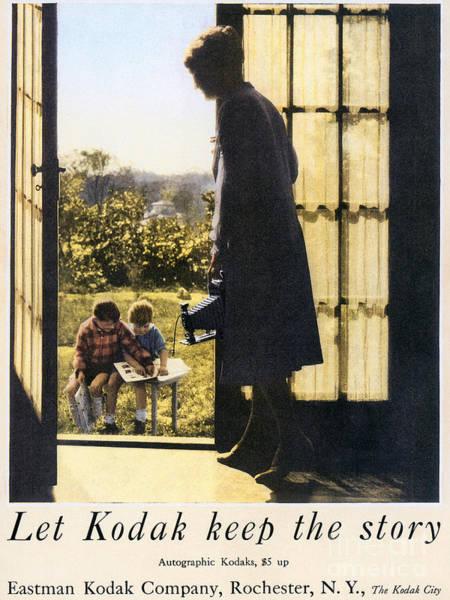 Photograph - Kodak Advertisement, 1927 by Granger