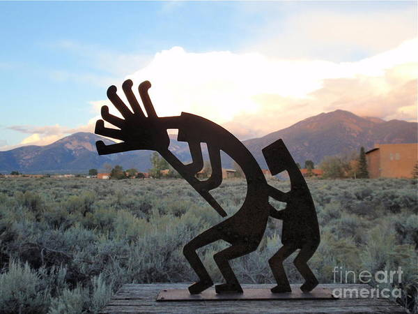 Kokopelli Photograph - Kokopelli by Aimee Mouw