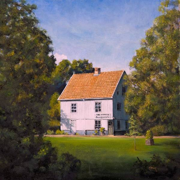Painting - Komstad Lanthandel by Brandon Kralik