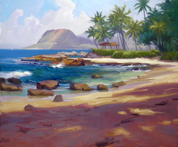 Wall Art - Painting - Ko'olina Colour by Richard Robinson