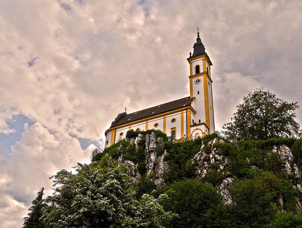 Photograph - Kreuzbergkirche - Pleystein by Juergen Weiss