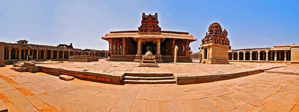 Wall Art - Photograph - Krishna Temple, Hampi, Karnataka by Mukul Banerjee Photography