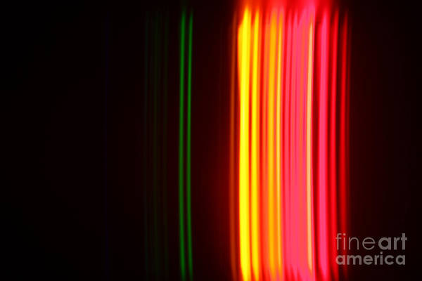 Grating Wall Art - Photograph - Krypton Spectra by Ted Kinsman