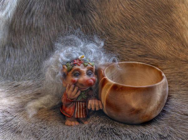 Troll Photograph - Kuksa Troll by Merja Waters