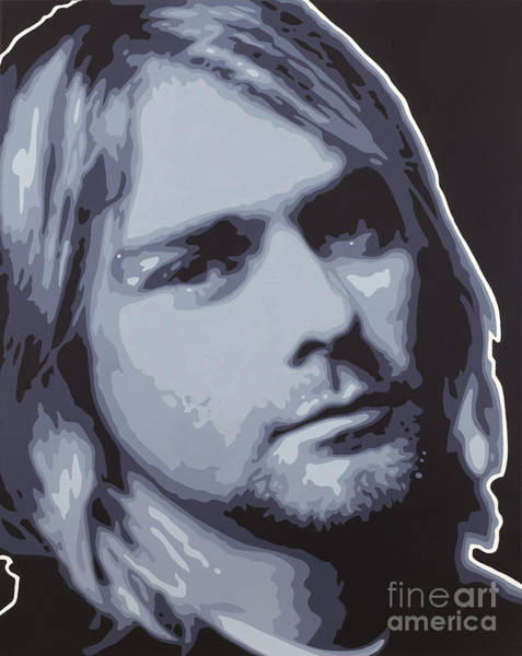 Dave Grohl Painting - Kurt Cobain by Sonny Forbes