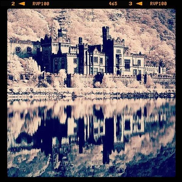 Surrealism Photograph - Kylemore Abbey, Ireland. Taken With by Magda Nowacka