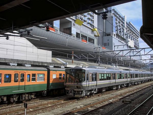 Kansai Wall Art - Photograph - Kyoto Main Train Station - Japan by Daniel Hagerman