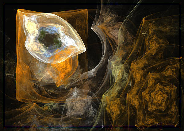Digital Art - La Chambre A Coucher by Sipo Liimatainen