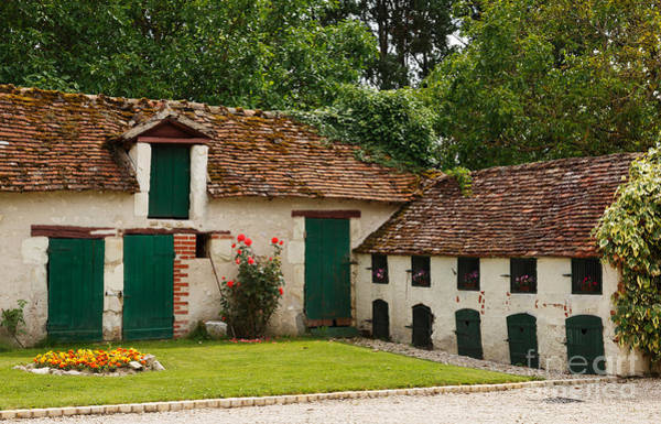 Wall Art - Photograph - La Pillebourdiere Old Farm Outbuildings In The Loire Valley by Louise Heusinkveld
