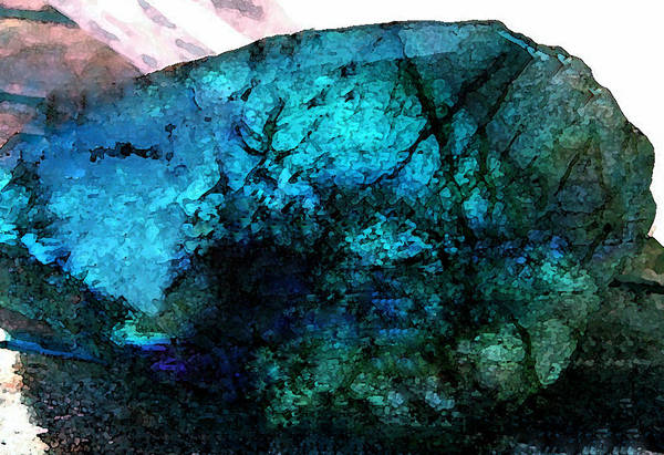 Painting - Labrodite Water Paint by Colette V Hera  Guggenheim