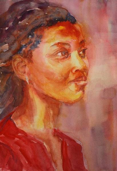 Painting - Lady In Red by Tara Moorman