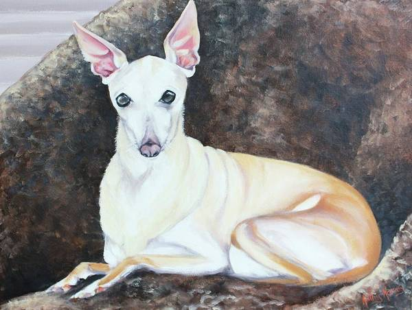 Painting - Lady by Kathy  Karas