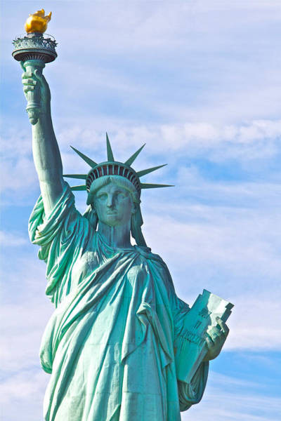 Photograph - Lady Liberty by Alice Gipson