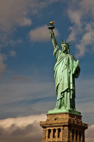 Wall Art - Photograph - Lady Liberty by Patrick  Flynn