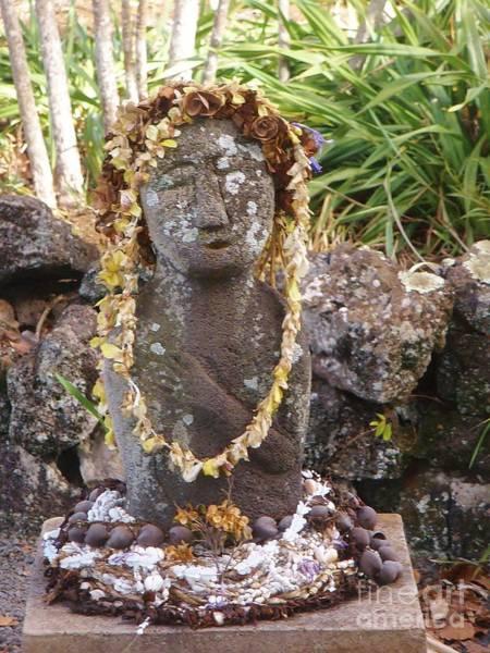 Photograph - Lady On Maui by Jeanie Watson