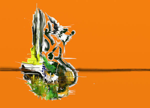 Digital Art - Lagoon by Eugene Foltuz