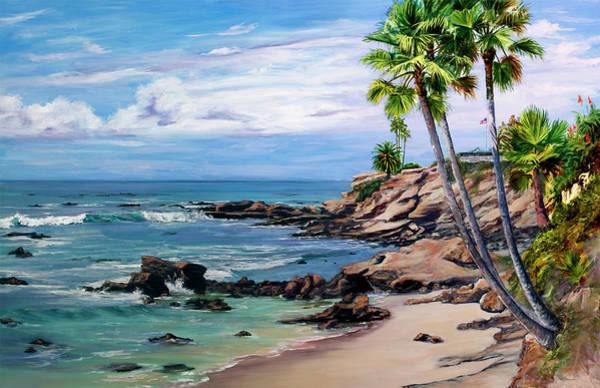 Wall Art - Painting - Laguna Beach by Lisa Reinhardt