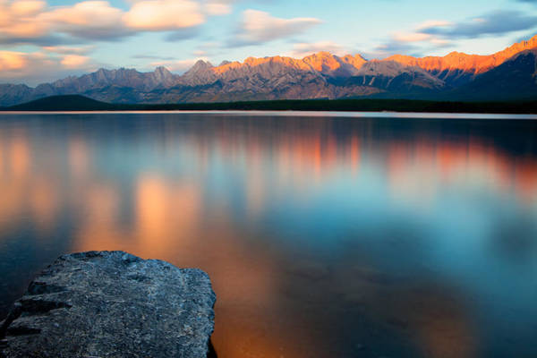 Art Print featuring the photograph Lake Evening 1 by David Buhler