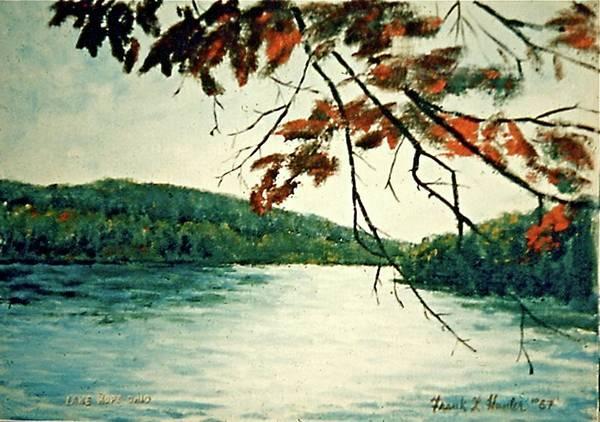 Painting - Lake Hope Ohio by Frank Hunter