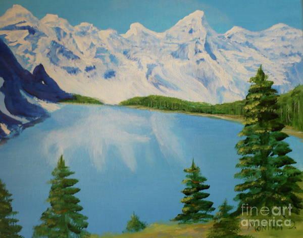 Painting - Lake Louise by Monika Shepherdson