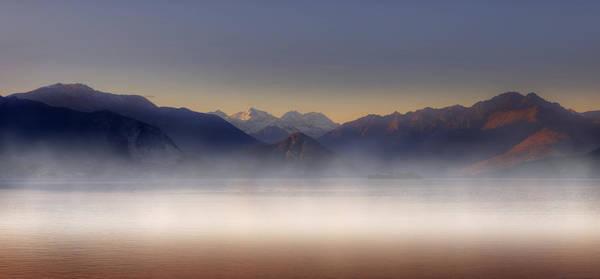 Lake Maggiore Photograph - Lake Maggiore And Alps by Joana Kruse