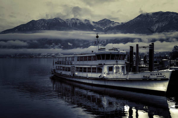Ticino Photograph - Lake Maggiore In Winter by Joana Kruse