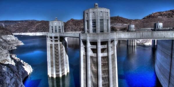 Lake Mead Hoover Dam Art Print
