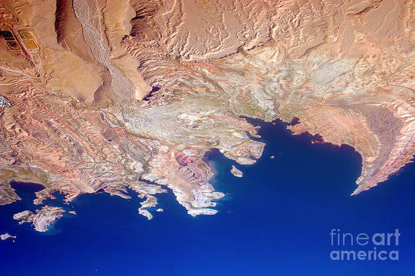 Photograph - Lake Mead Shores Nv Planet Earth by James BO Insogna