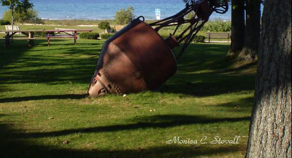 Photograph - Lake Mi Park - Mackinaw City M Collectionsi   by Monica C Stovall