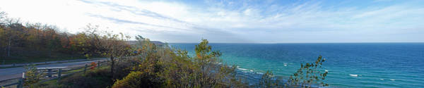 Traverse City Photograph - Lake Michigan Panorama by Twenty Two North Photography