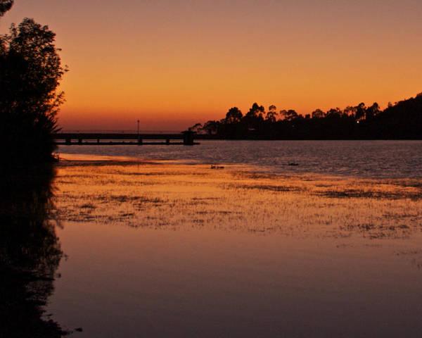 Photograph - Lake Miramar Sunset 2 by Jeremy McKay