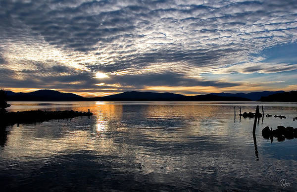 Photograph - Lake Pend Oreille by Endre Balogh