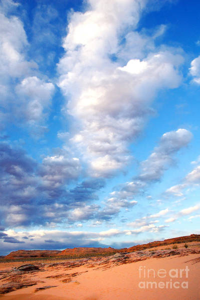 Photograph - Lake Powell Clouds by Thomas R Fletcher