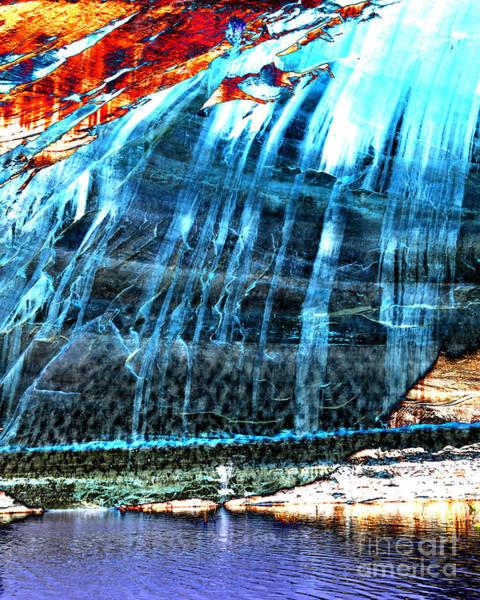 Desert Varnish Photograph - Lake Powell Reflection by Rebecca Margraf
