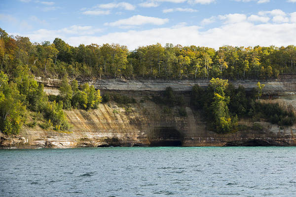 Wall Art - Photograph - Lake Superior Pictured Rocks 5 by John Brueske
