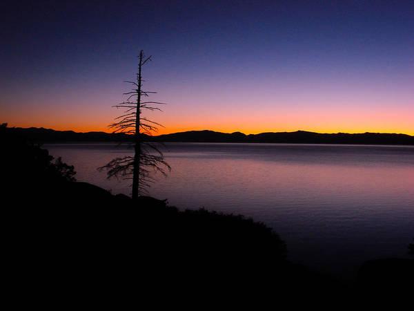 Photograph - Lake Tahoe Sunset Gradient by Scott McGuire