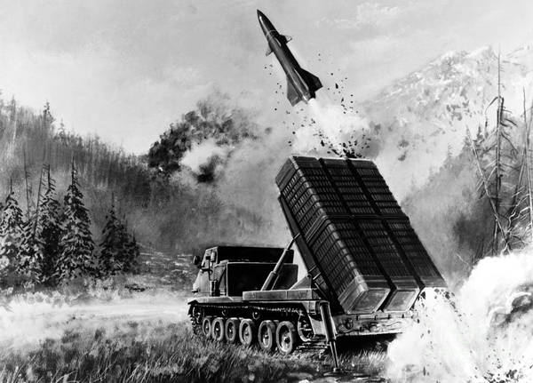 Photograph - Lance Missile, C1980 by Granger