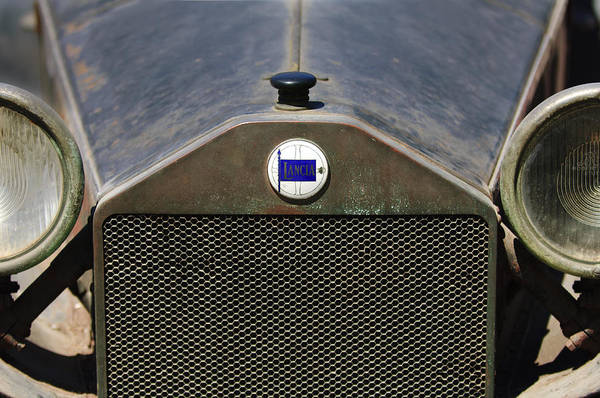 Photograph - Lancia Barn Find Grille by Jill Reger