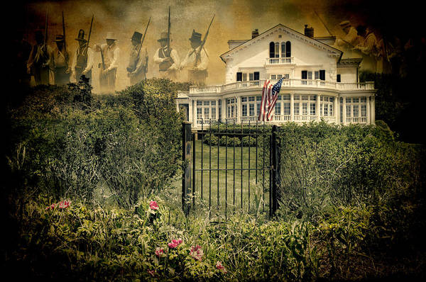Photograph - Land Of The Free..home Of The Brave by Robin-Lee Vieira