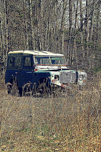 Photograph - Land Rover by Doug Mills