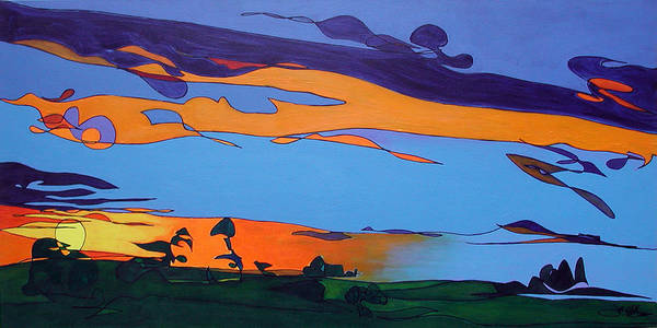 Painting - Landscape 283 by John Gibbs