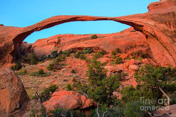 Entrada Photograph - Landscape Arch by Robert Bales