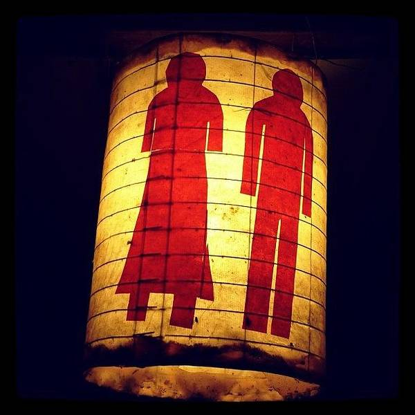Wall Art - Photograph - #lantern #couple #death #love #eerie by Kokky Lawrence