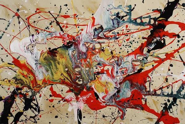 Painting - Lassoed A Tornado by Nan Bilden