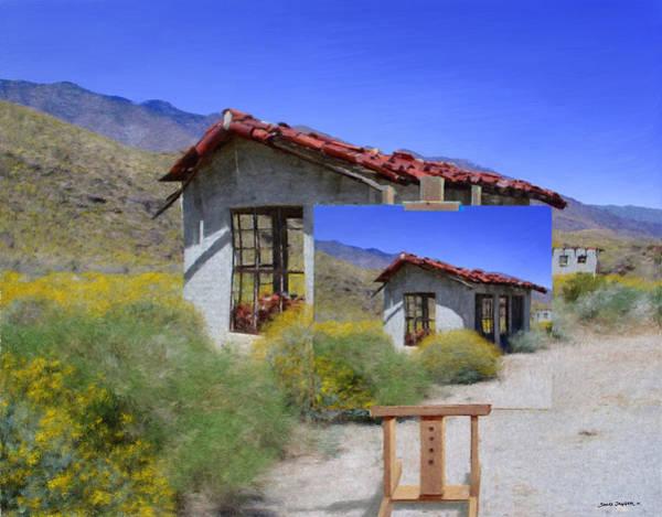 Desert Landscape Mixed Media - Last Chance by Snake Jagger