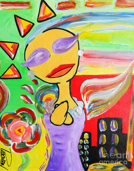 Laste Sunshine  Art Print